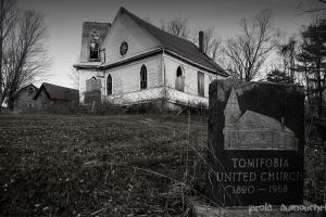The abandoned united church of Tomifobia