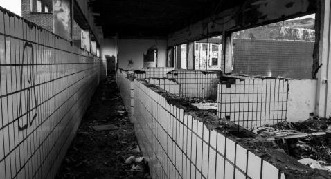 The abandoned Bilbao plant