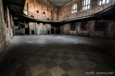 The abandoned university residence