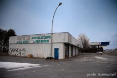 The old and abandoned gas station