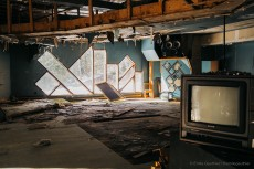 The abandoned music studio