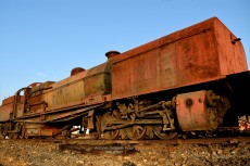 The old Minas de Riotinto locomotives