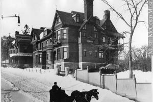 Mansion of Frederick Redpath, Ontario av., Montreal, QC, around 1890