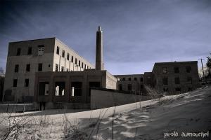 The Belding Corticelli abandoned plant
