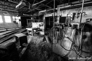 The abandoned assembly line