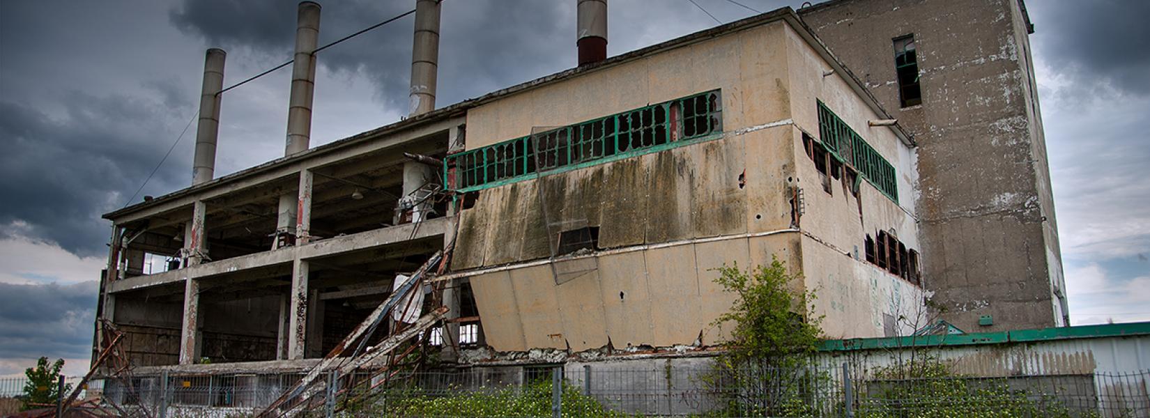 L'usine abandonnée sans nom