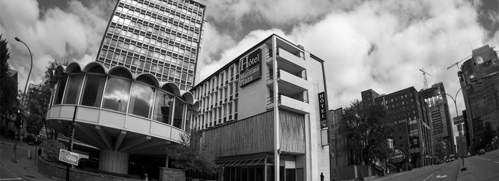 14 étages d'hôtel abandonné