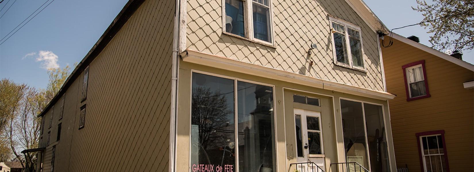 Le vieux magasin général de Sainte-Brigide d'Iberville