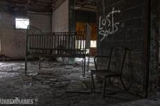 The abandoned Forest Haven Asylum