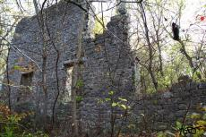 The ruins of an old mill