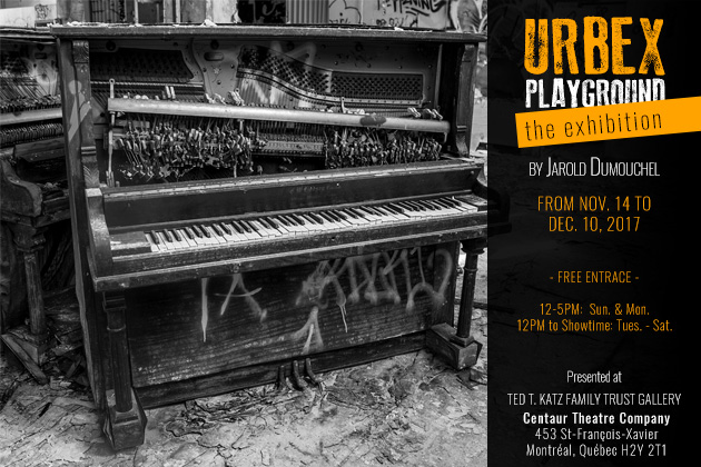 Urbex Playground - The exhibition